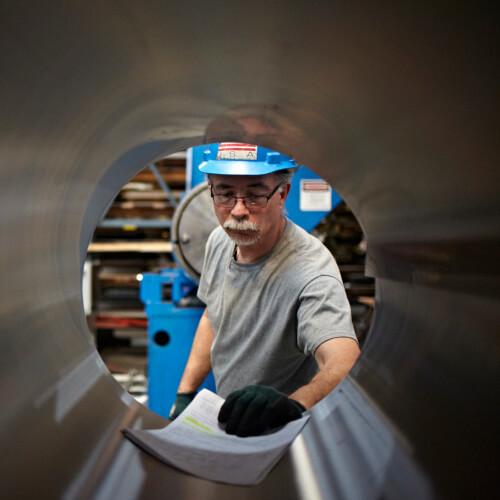 Reliance Steel Worker
