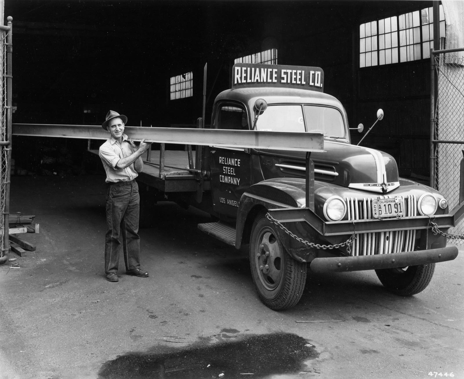 Reliance Steel Truck 1947